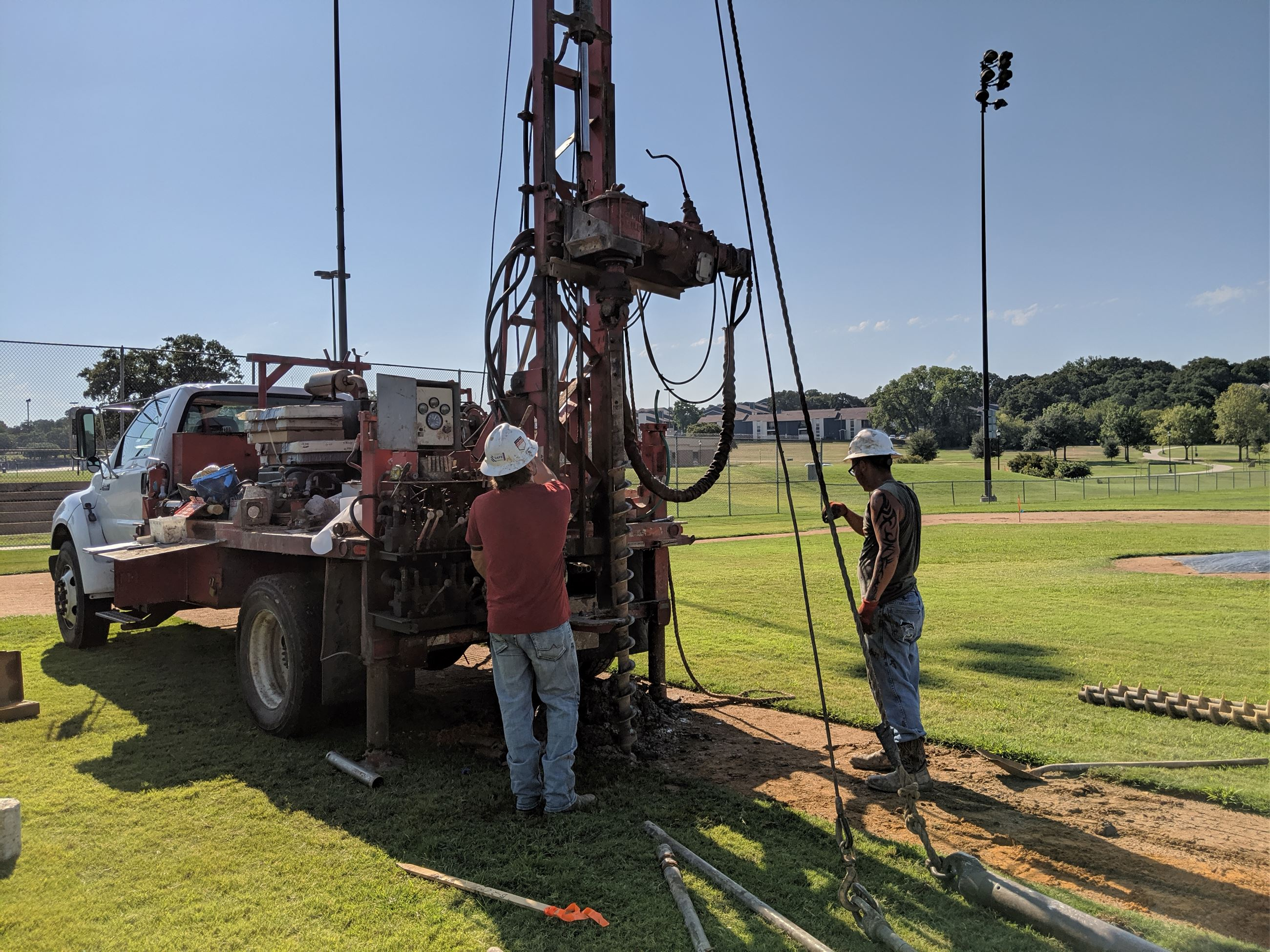 Boys Ranch Park - Phase Next: Geotechnical Testing 9/4/19 Photo 1