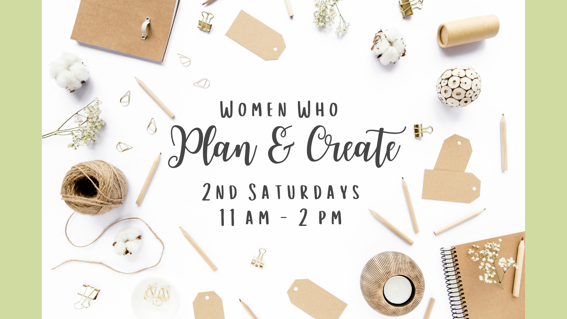 daily_women who plan and create_event
