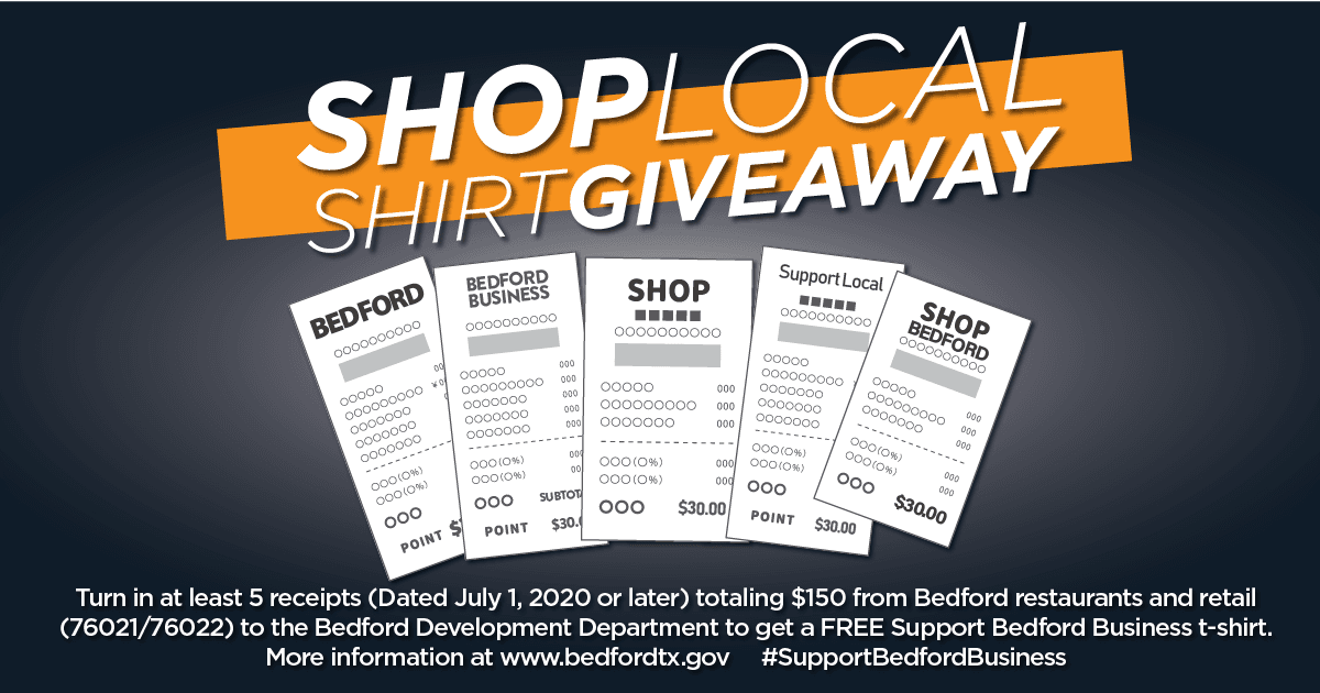 Shop Local Shirt Giveaway