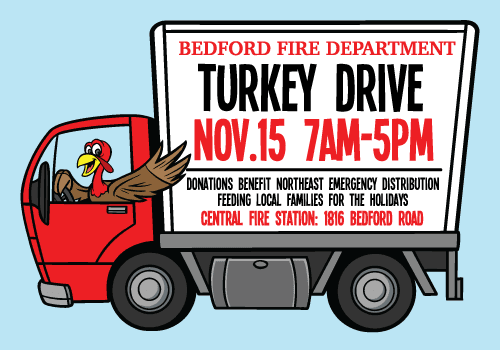 More information on the Fire Dept Turkey Drive
